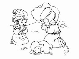 Printable Lords Prayer New The Lord S Prayer Coloring Pages