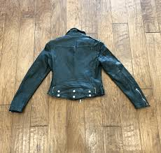 mauritius wild black womens belted leather jacket 2