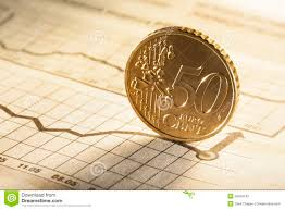 50 Cent On Newspaper Stock Image Image Of Earnings Gold