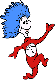 Small Picture Thing 1 And Thing 2 Printable Template Seuss coloring pages t