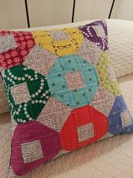 309 best A Quilt - Pillows images on Pinterest | Pillows ... & modern quilted mini shoofly pillow cover by Kathy512 on Etsy, $55.00 Adamdwight.com