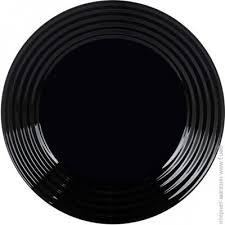 <b>Тарелка десертная LUMINARC Harena</b> 19см, black (L7613)