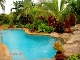 Backyard Pool Landscaping Backyards Enchanting Exceptional Backyard Pool Landscaping Ideas