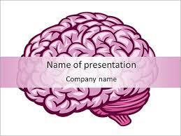 Human Brain Powerpoint Template, Backgrounds & Google Slides - Id ...
