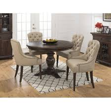 charming 60 inch round dining table set including jofran geneva hills pc trends images kd
