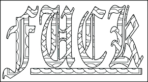 Swear Word Coloring Book Printable Pages Swear Word Coloring Book