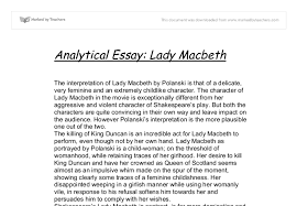 essay on lady macbeth was lady macbeth evil essays nvrdns com sample of a persuasive essay was lady macbeth evil essays nvrdns com sample of a persuasive essay