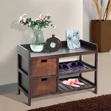 shoe rack for entryway modern ...