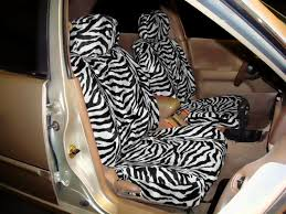 zebra seat covers