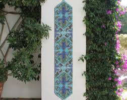Decorative Tiles For Wall Art Garden decor outdoor wall art and ceramic tiles by GVEGA on Etsy 67