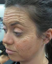i think that this use of latex is effective within this look and can help to liquid latex makeupold