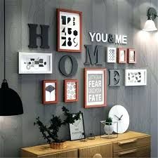target wall art frame sets for wall typography wall art frames gallery wall frame set target