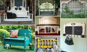 diy repurposed furniture. 30 diy repurposed headboard ideas diy furniture y