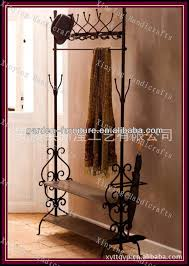 Free Standing Coat Rack With Shelf Best 100 Diy Coat Rack Ideas On Pinterest Wall Coat Rack Within Free 26