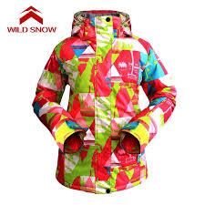 <b>WILD SNOW</b> Women <b>ski</b> Jacket Waterproof <b>Skiing</b> Jacket Hiking ...