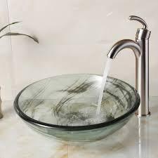 vessel sinks glass bowl bathroom sinks bathroom sink glass bowl