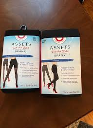 Assets By Spanx Size Chart 2 New In Package Size 5 E Spanx Shaping Tights Black