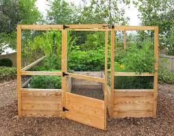deer proof cedar complete raised garden bed kit 8 x beds plans deer resistant fence guarding raised wooden garden boxes proof beds