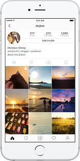 instagram profile iphone. Unique Iphone On Your Profile Grid The Postu0027s First Photo Or Video Has A Little Icon  Distinguishing It From Singleitem Posts As Shown Below And Instagram Profile Iphone W
