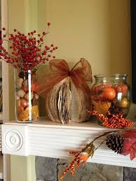 fall decorating ideas for your mantel