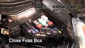 blown fuse check 2007 2011 honda cr v 2009 honda cr v ex l 2 4l 6 replace cover secure the cover and test component