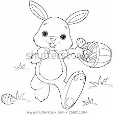 Bunnies Coloring Pages Copy Page Easter Bunny Face To Print