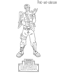 Fortnite Battle Royale Coloring Page Frozen Love Ranger Skin