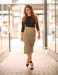 Gorgeous maxi skirts outfits ideas Crop Top Best Pencil Skirt Outfit Ideas Plaid Pencil Skirt Stylecraze 19 Best Pencil Skirt Outfit Ideas