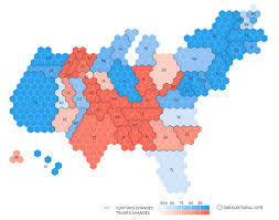 2016 Presidential Election Results Chart Election Results In The Third Dimension Metrocosm