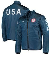 nike lab team usa summit midlayer2018 winter olympic jacket 916645 474 size l