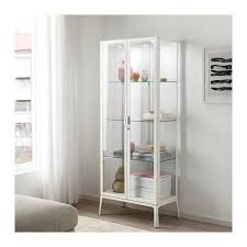 ikea glass cabinet