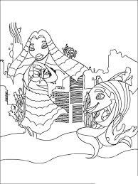 Small Picture Shark Tale coloring pages Free Printable Shark Tale coloring pages