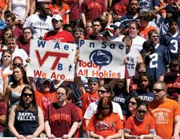 virginia tech magazine today we are all hokies penn state blue white game