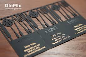 Cookware Business Cards Diomioprint