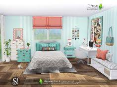 Sims 4 CCs The Best Teen Bedroom Set by JomSims Sims 4 cc