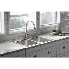 Vision Kitchen Sink Double Basin Stainless Steel VNX12037 VNX120 Double Basin Stainless Steel Kitchen Sink