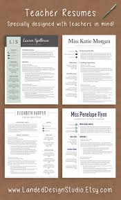 17 best ideas about teacher resume template resume professionally designed resumes teachers in mind completely transform your resume a teacher resume