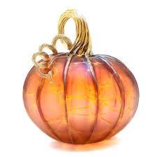 hand blown glass pumpkins tacoma artisan pumpkin signed and dated