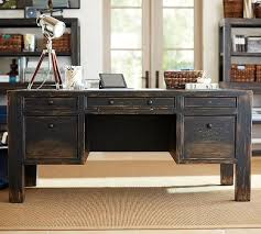 large office desks. Wonderful Desks Interior Pottery Barn Office Desks Stylish Logan Small Suite Mahogany  Stain For 16 From On Large