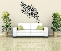 cheetah print decals for walls vinyl wall decal sticker leopard print wall decals