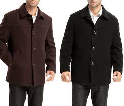 wool winter coats for men