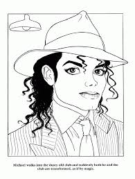 Michael Jackson Smooth Criminal Coloring Pages Michael Jackson ...
