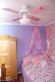 kids ceiling fans ideas hunter kids ceiling fan with free blades pink and yellow wires flower