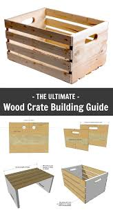 building crates is easy fun and maybe even free if you have s wood lying around your