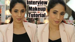interview makeup tutorial professional office work makeup
