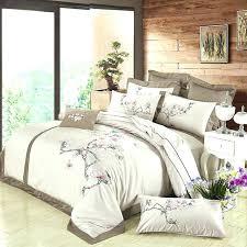 designer duvet covers designer duvet covers brown luxury cotton embroidered bedding sets silk feeling queen king size fl designer duvet cover designer