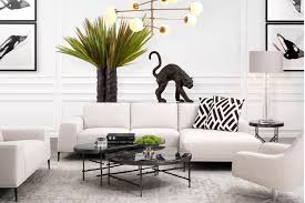 Retro Chic Designer Home Soothing Synergy Featured Rooms Inspiration