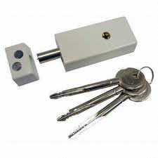 Taiwan Cross Key Door Lock with Zinc Die cast Body OEM Orders are