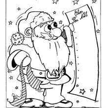 Christmas Gifts List Coloring Pages Hellokidscom