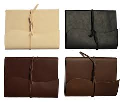 cowhide leather writing journal notebooks